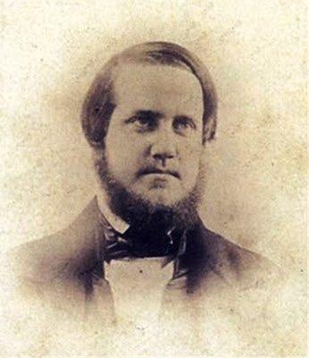 primeirafoto-D Pedro II, aos 22 anos - 1848